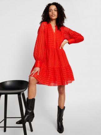 Rød kjole Yas