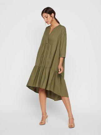 Grønn kjole Yas