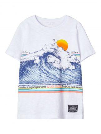 Hvit t-skjorte barn