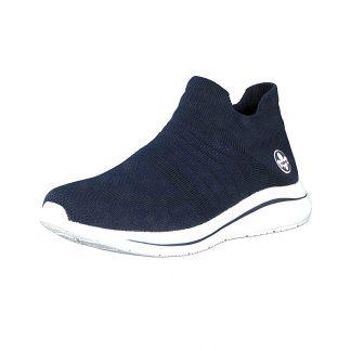 Rieker mørkeblå sko