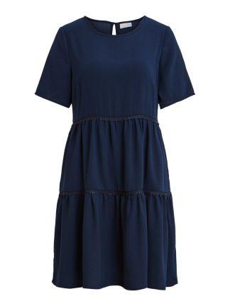 Mørke blå kjole 17.mai