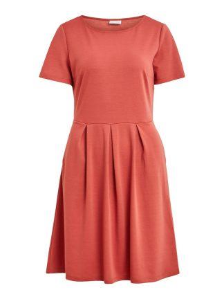 Vila kjole rosa