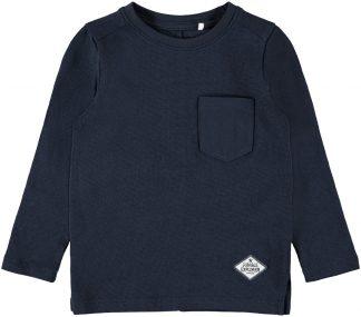 Marineblå genser