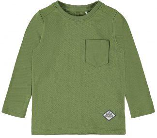 Grønn genser til barn