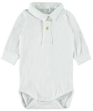 Body med skjortekrage til baby