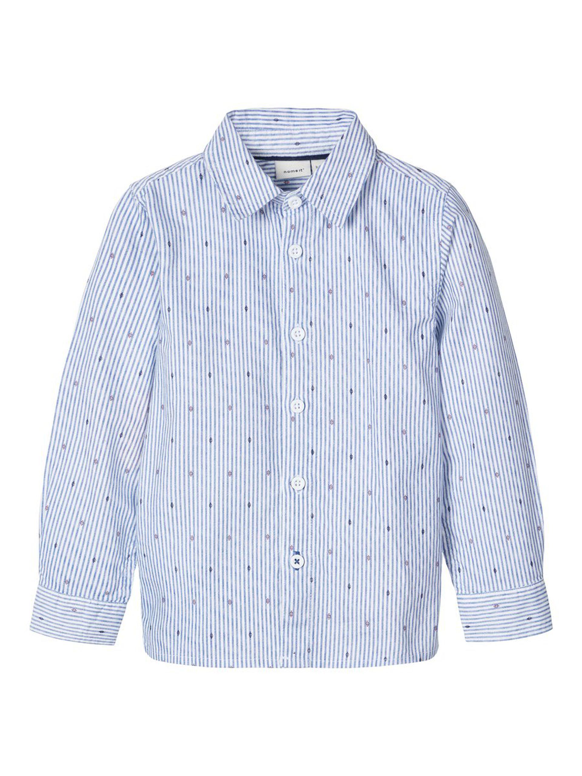 skjorte med ruter og denim MioTrend