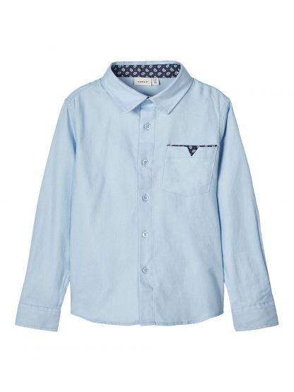Penskjorte barn – Skjorter og vester lyse blå penskjorte Finwhale – Mio Trend