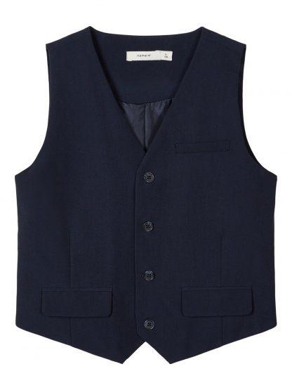 Vest til dress – Skjorter og vester blå vest Ralf – Mio Trend
