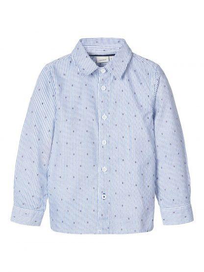 Name It skjorte striper – Skjorter og vester blå stripete skjorte Dodo – Mio Trend