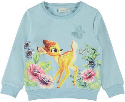 Barneklær Bambi – Name It blå genser Bambi – Mio Trend