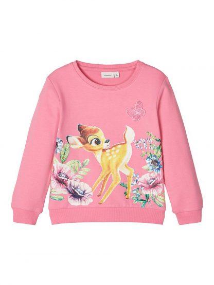 Rosa genser Bambi – Name It rosa genser Bambi – Mio Trend