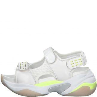 Tamaris hvit sandal