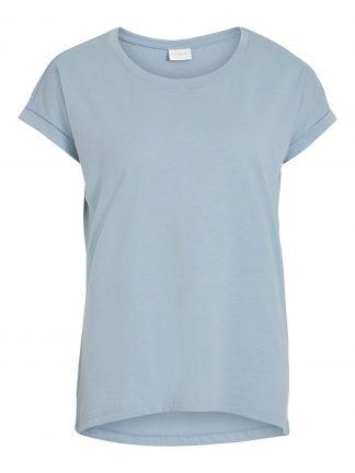 Blå t-skjorte Vila