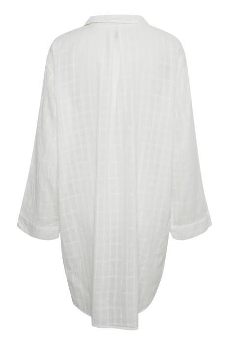hvit storskjorte Akbertine MioTrend