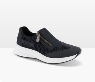 Blå sko Rieker