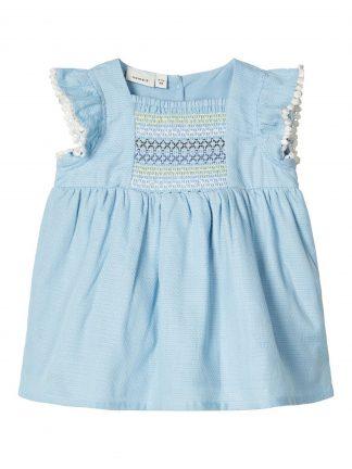 Kjole baby lyseblå