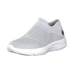 Grå sko Rieker
