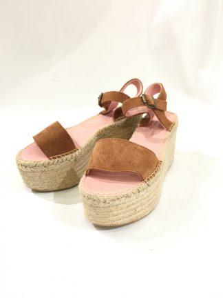 Sandaler med platåsåle