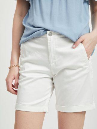 Vila shorts hvit