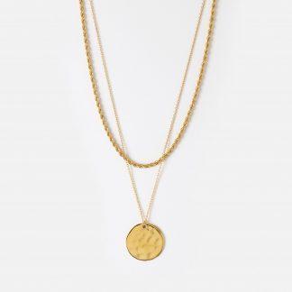 Orelia smykker to halskjeder rope