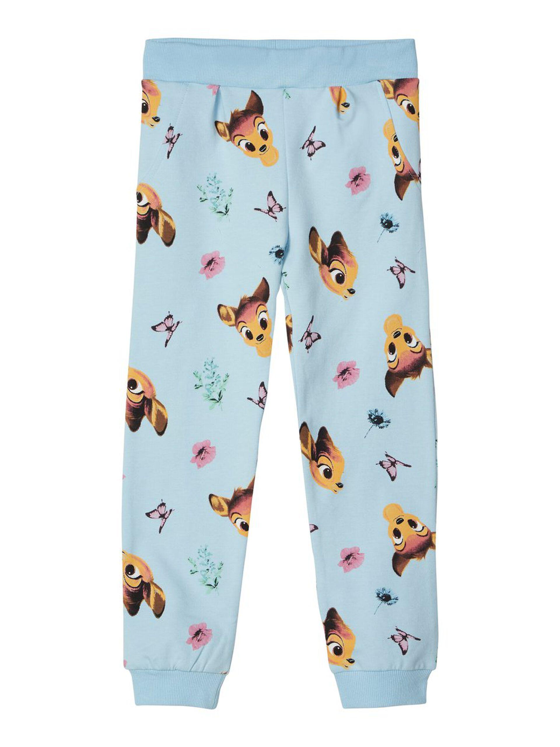 marineblå bukse med elefant MioTrend