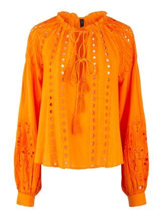 Oransje bluse Yas