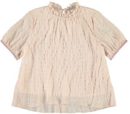 Rosa topp jente – T-skjorter rosa bluse/topp Holly – Mio Trend