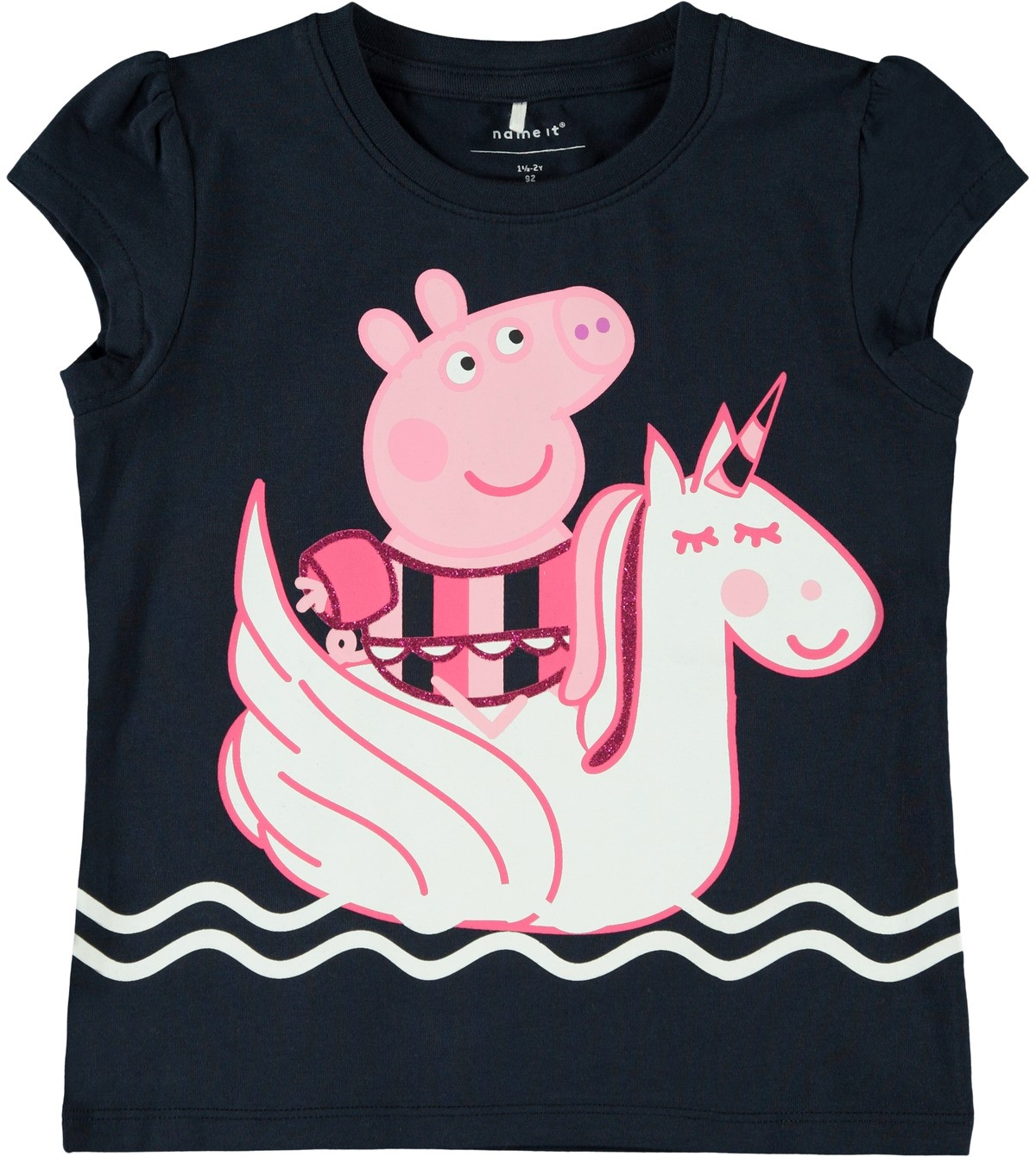 rosa Peppa Gris t skjorte MioTrend