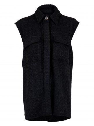 Neo Noir sort vest