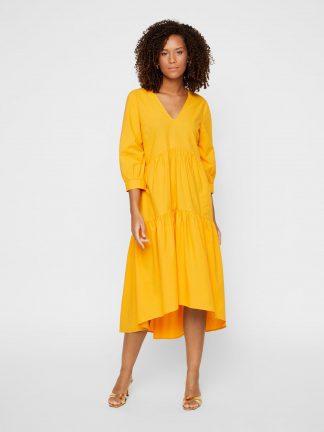 Oransje kjole Yas