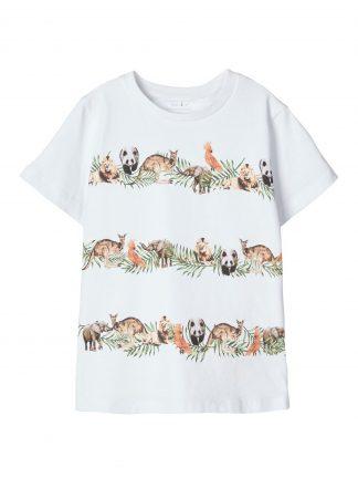 T-skjorte dyreprint