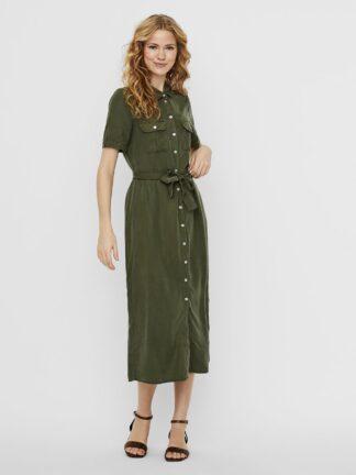 Grønn kjole Noisy May