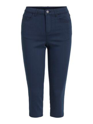 Blå capri shorts