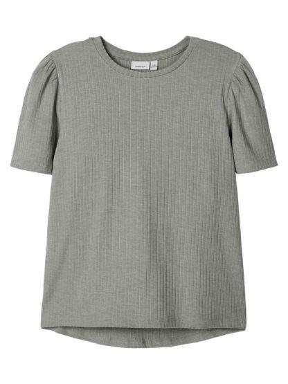 Grønn topp Name It – T-skjorter grønn oversizet topp Balina – Mio Trend