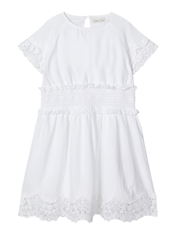 Name It hvit kjole