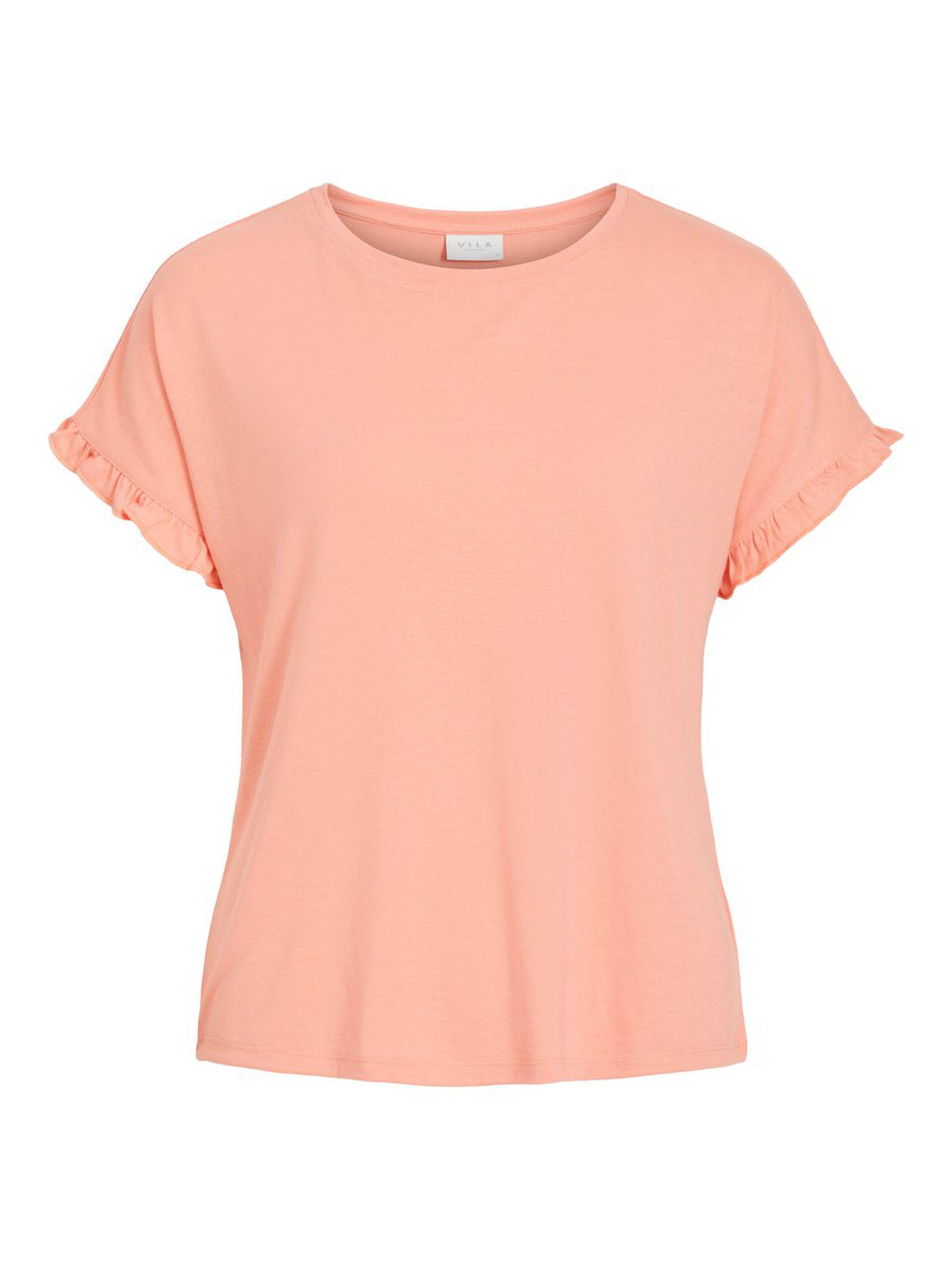 T-skjorte lin dame