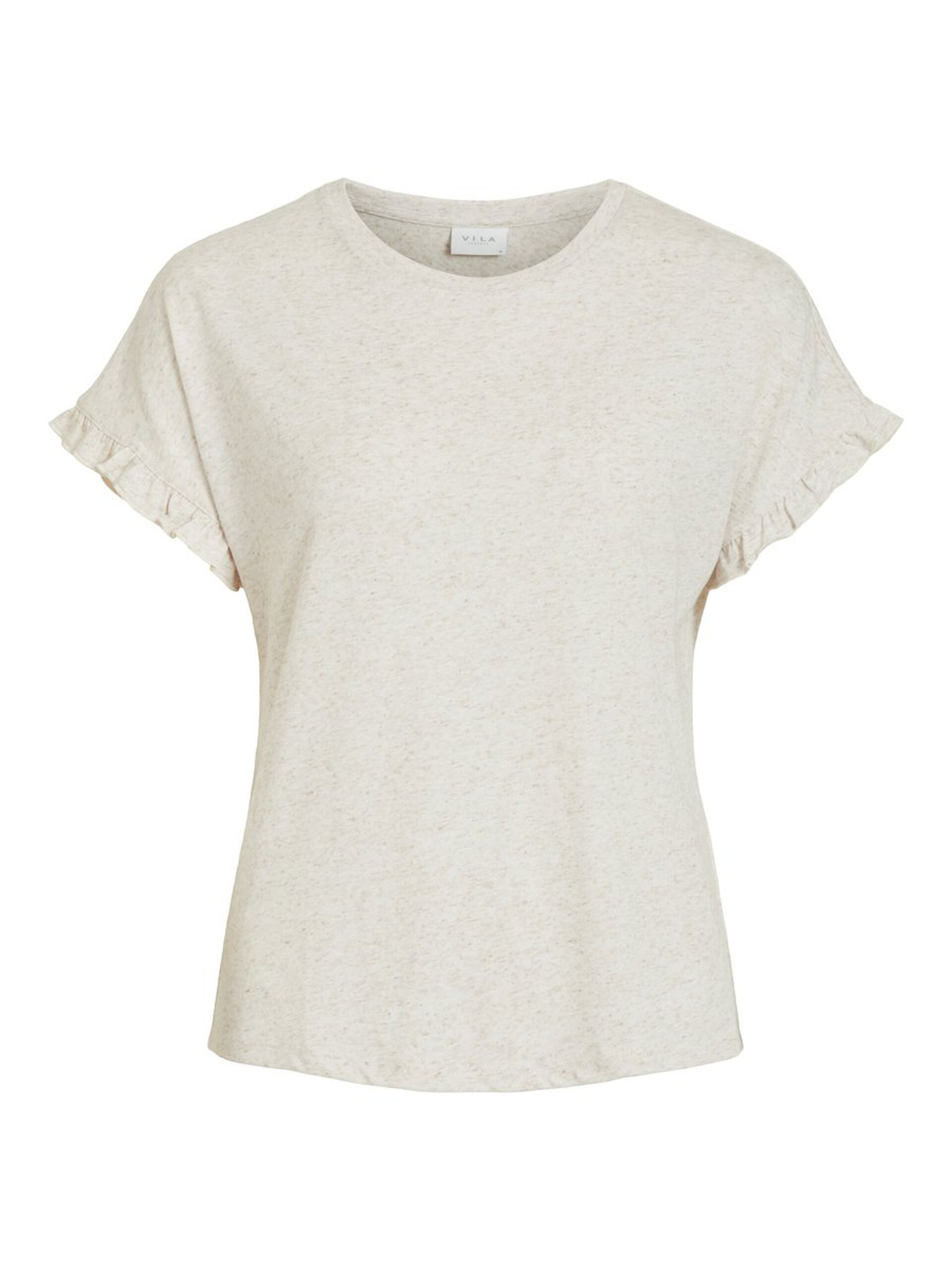 Vila lin t-skjorte