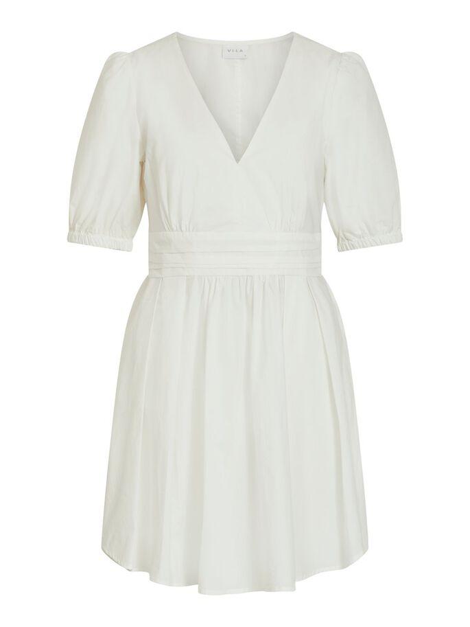 Hvit kjole Vila