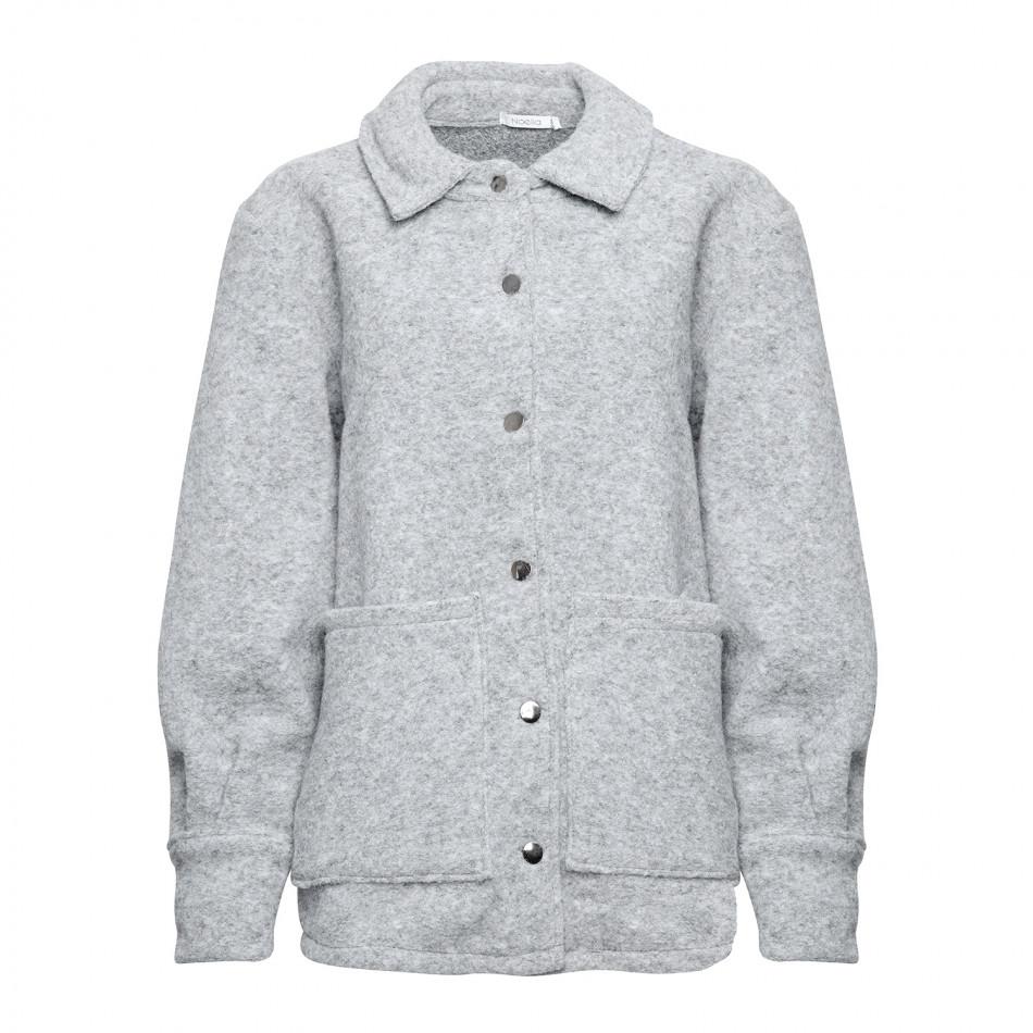 Viksa jakke camelblack checks MioTrend