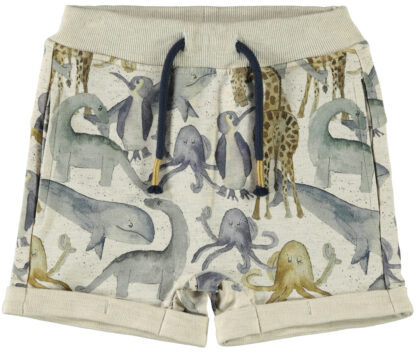 Beige shorts Name It – Shorts short Hixus – Mio Trend