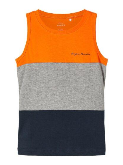 Name It singlet – T-skjorter oransje singlet Vex – Mio Trend
