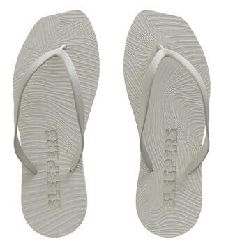 Hvite Sleepers sandaler