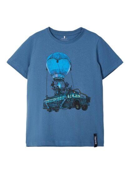 Fortnite t-skjorte barn Name It – T-skjorter blå Fortnite t-skjorte  – Mio Trend