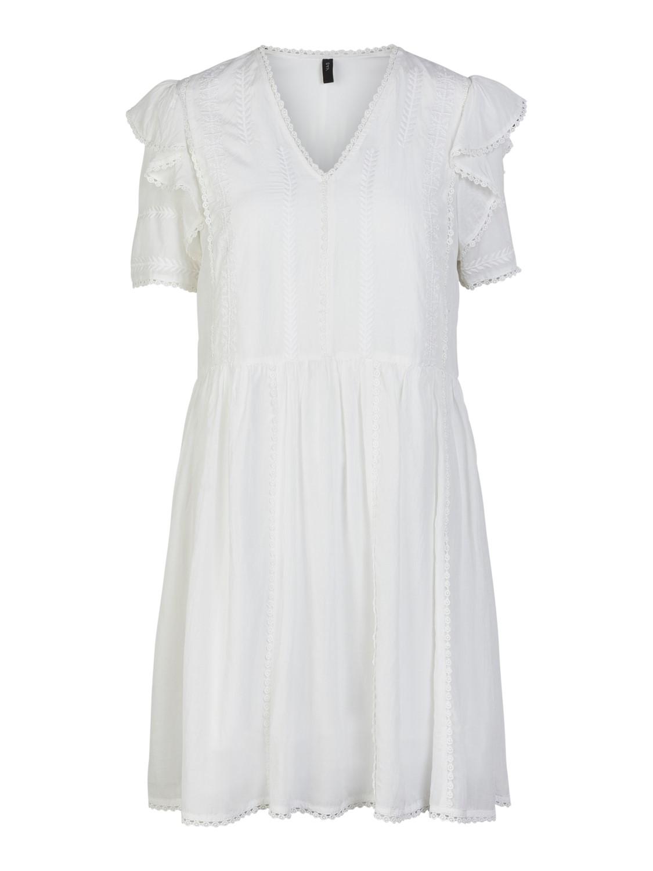 Yas hvit kjole