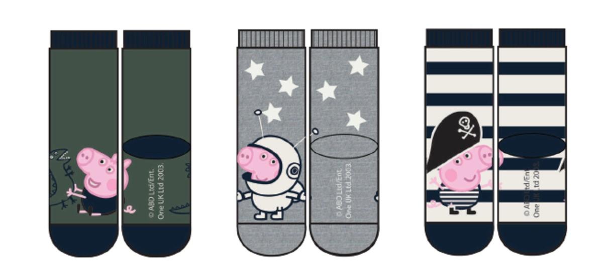 Peppa Gris sokker – Sokker og strømpebukser 3 pk sokker Peppa Gris – Mio Trend