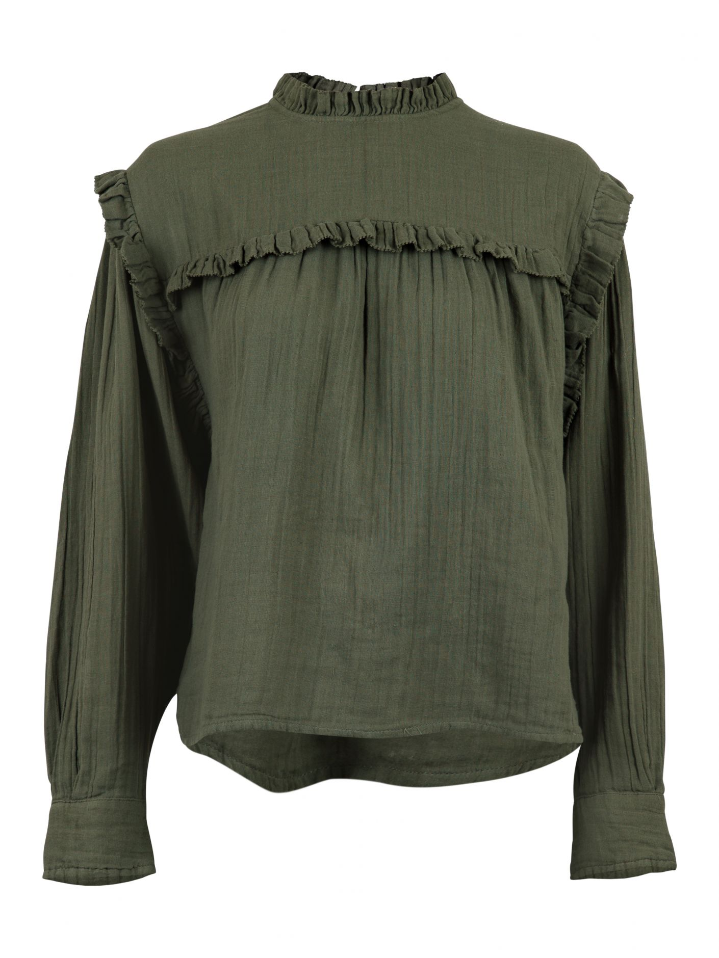 Grønn bluse Neo Noir