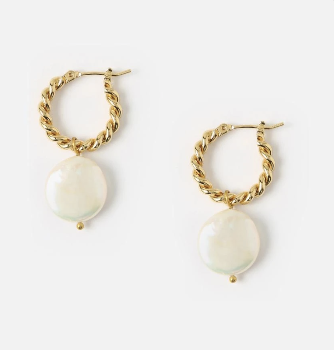 Orelia øredobber perler
