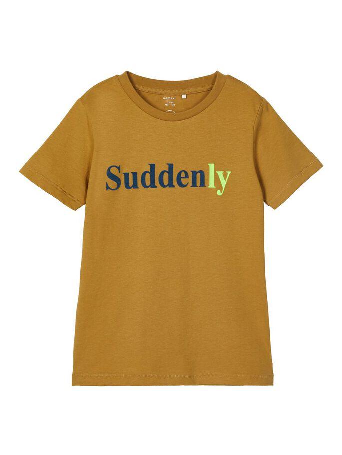 Brun t-skjorte Name It