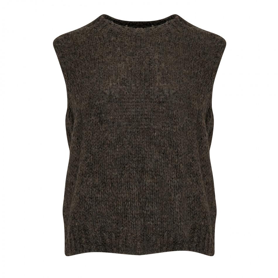 strikkevest Kala brun – Noella strikkevest Kala brun  – Mio Trend