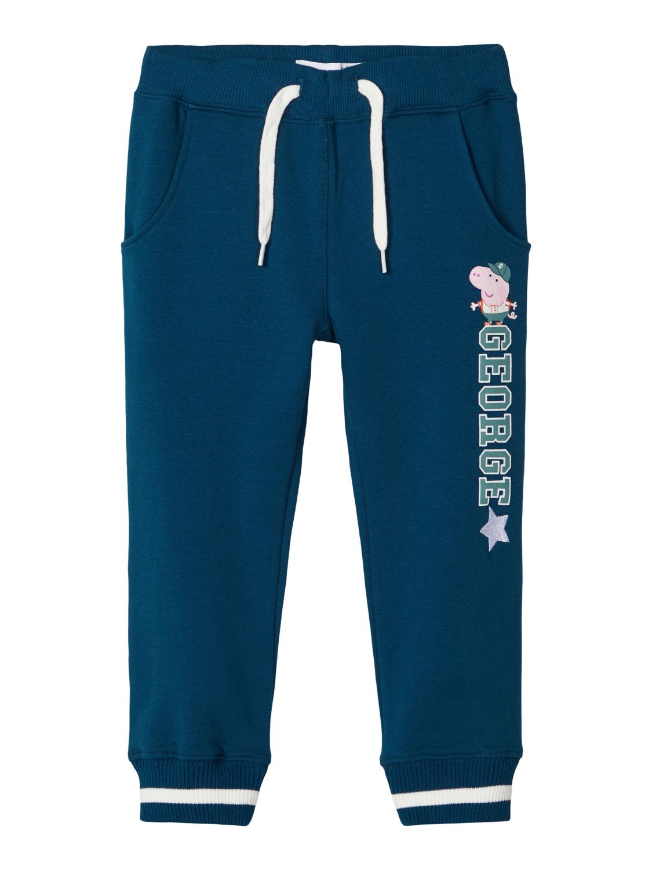 Peppa Gris joggebukse blå